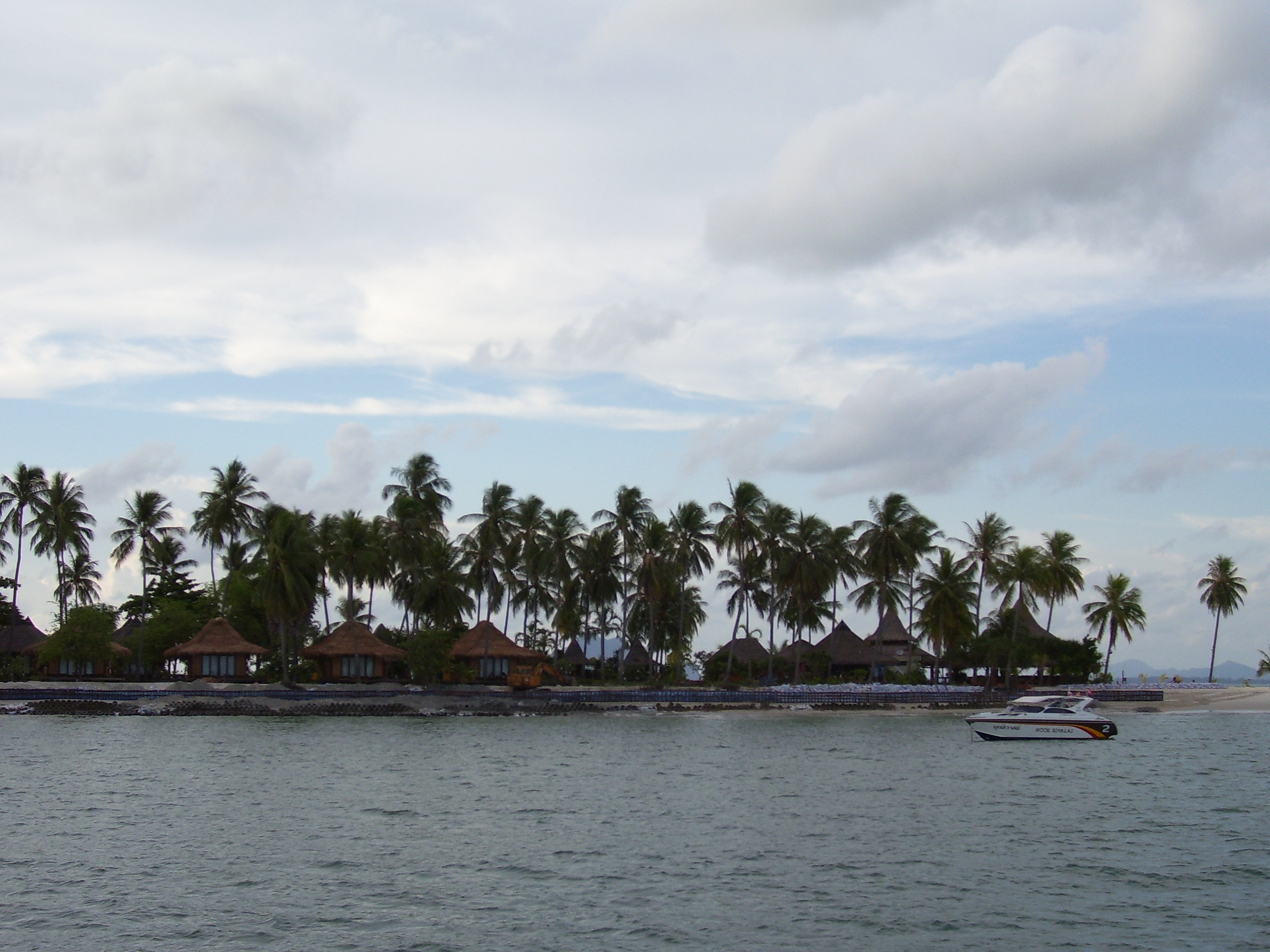 We were anchored off the Sivalai Resort, Ko Muk