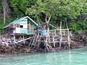 Budget accommodation? In Tonsai Bay Ko Phi Phi Thailand