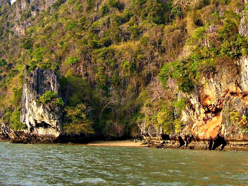 We visited Koh Phanak in Phang Nga Bay on one of our sailing trips.