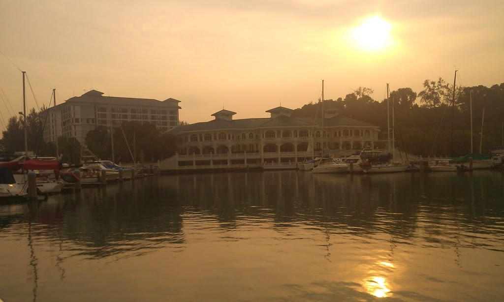 Langkawi to JB sailing blogs: Marina inmates get full resort privileges at Admiral Marina