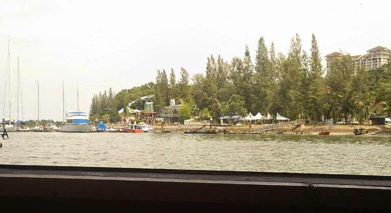 Langkawi to JB sailing blogs: Lumut International Club. Home to seven boats.