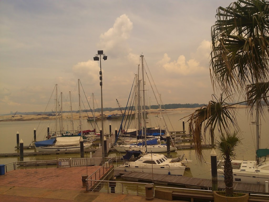 The marina at Danga Bay Johor.