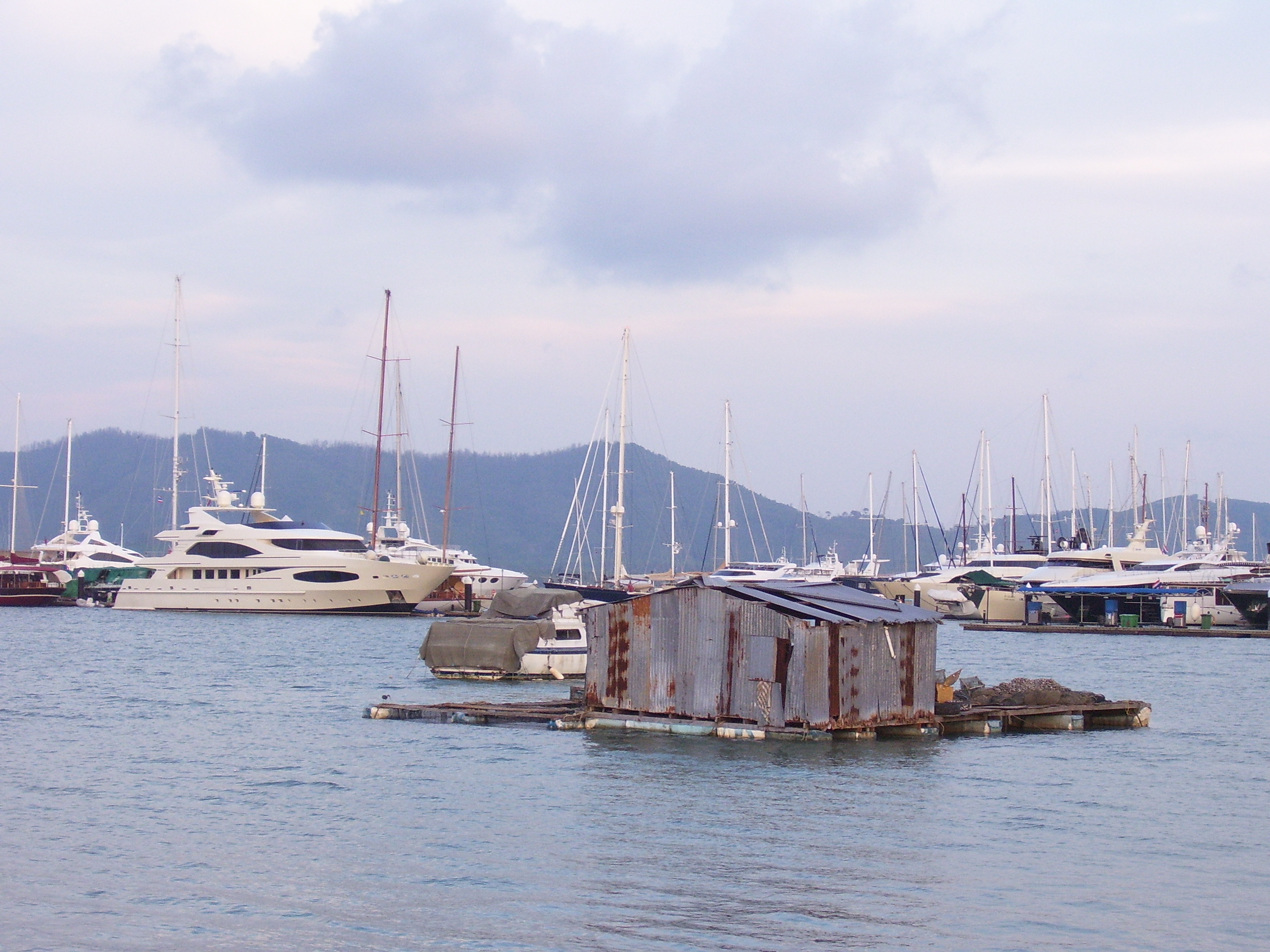 Travel in Thailand: Yacht Haven was our base for exploring Phang Nga Bay