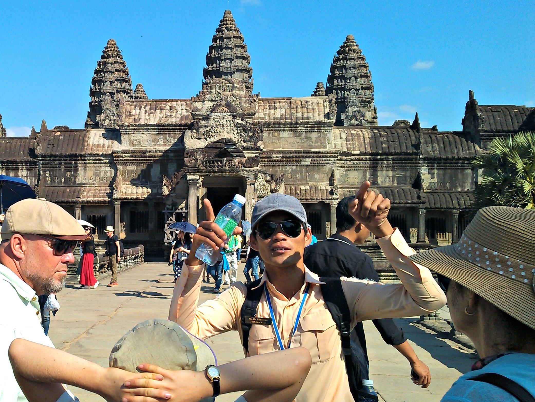 Cambodia holidays: Angkor Wat
