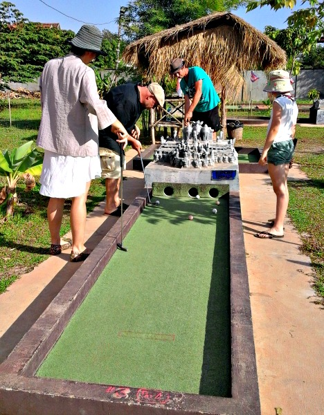Cambodia holidays highlights: Mini golf