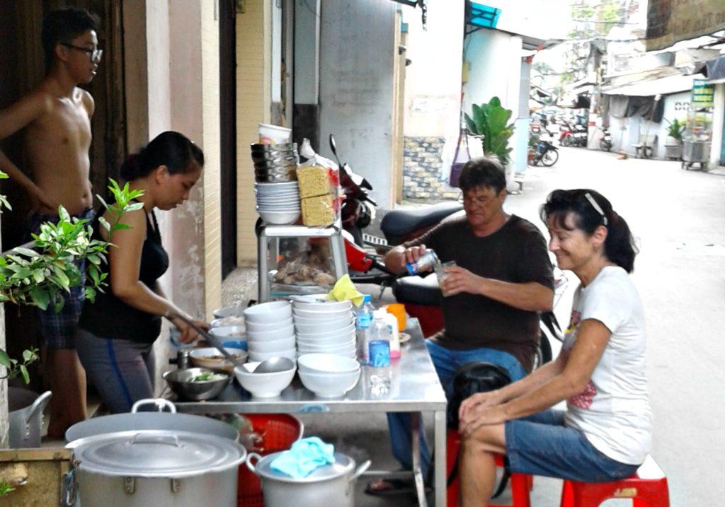 Backstreets pho, Saigon Vietnam
